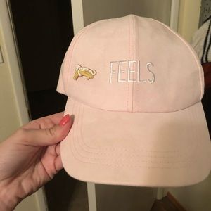 Accessories - FEELS hat pink baby pink